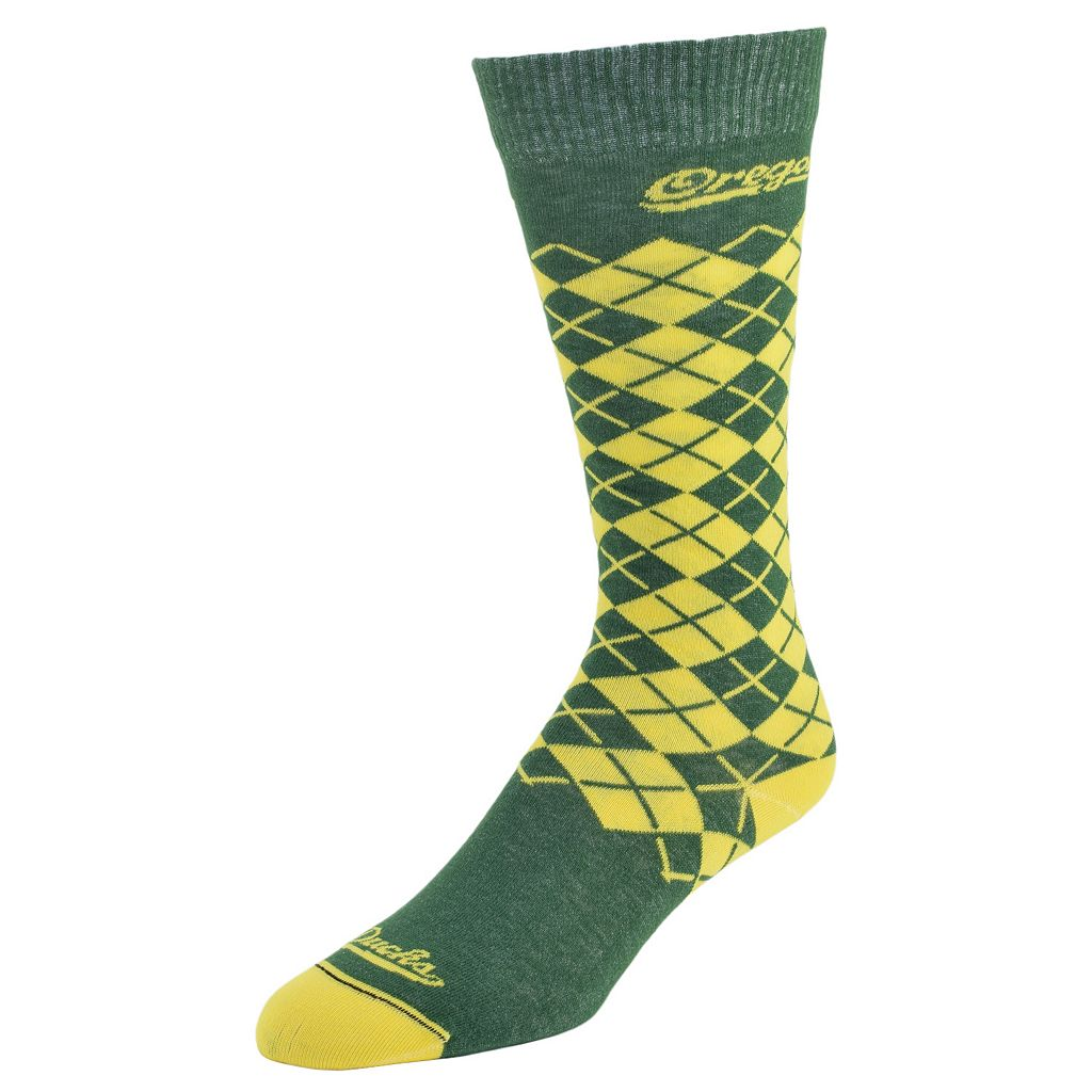 Men's Mojo Oregon Ducks Argyle Socks