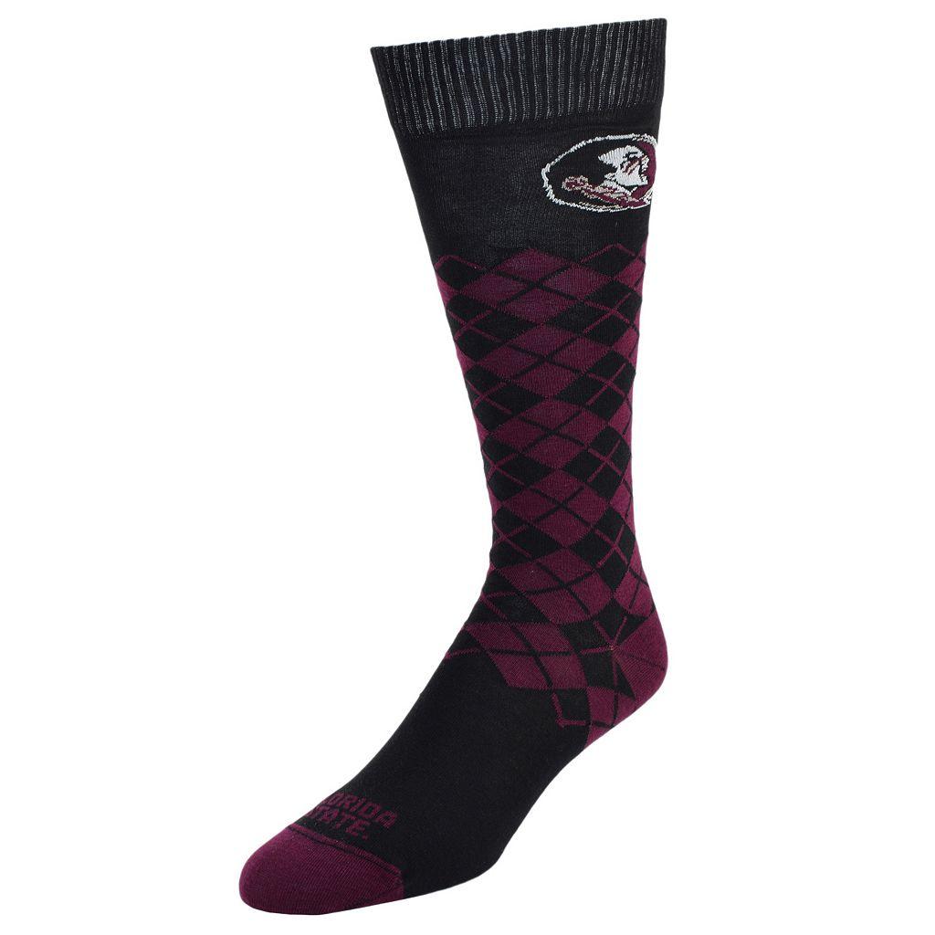 Men's Mojo Florida State Seminoles Argyle Socks