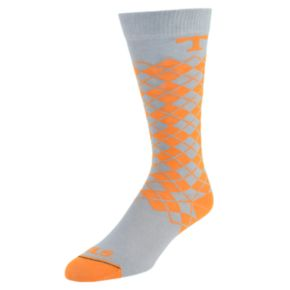 Men's Mojo Tennessee Volunteers Argyle Socks