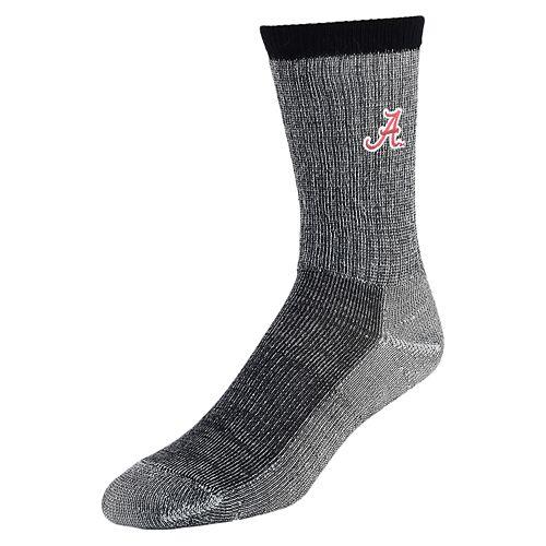 Men's Mojo Alabama Crimson Tide Hiker Crew Socks