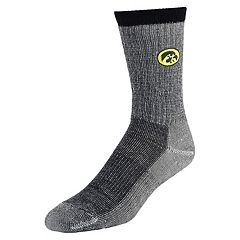Men's Mojo Iowa Hawkeyes Hiker Crew Socks