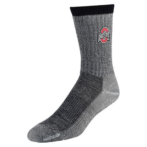 Men's Mojo Ohio State Buckeyes Hiker Crew Socks