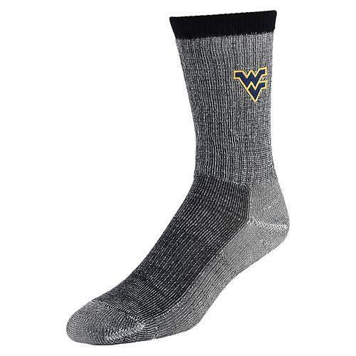 Men's Mojo West Virginia Mountaineers Hiker Crew Socks