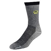 Women's Mojo Iowa Hawkeyes Hiker Crew Socks