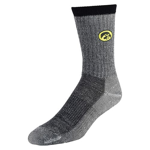 Women's Mojo Iowa Hawkeyes Hiker Crew Socks