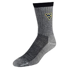 Women's Mojo West Virginia Mountaineers Hiker Crew Socks