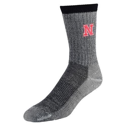 Women's Mojo Nebraska Cornhuskers Hiker Crew Socks