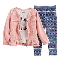 Baby Girl Little Lass Jacket,
