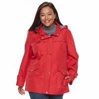Plus Size d.e.t.a.i.l.s Radiance Hooded Lightweight Jacket