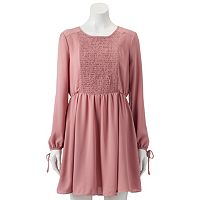 Women's LC Lauren Conrad Smocked Fit & Flare Dress