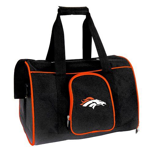 Mojo Denver Broncos 16-Inch Pet Carrier