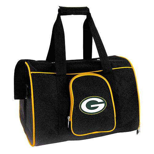 Mojo Green Bay Packers 16-Inch Pet Carrier