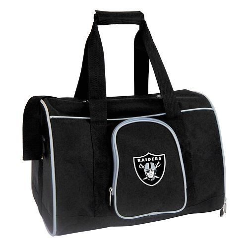 Mojo Oakland Raiders 16-Inch Pet Carrier