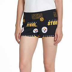 Women's Concepts Sport Pittsburgh Steelers Slide Shorts