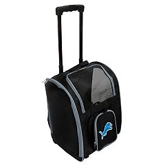 Mojo Detroit Lions Wheeled Pet Carrier