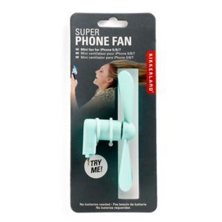 Kikkerland Portable iPhone Fan