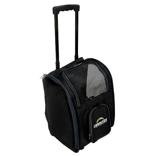 Mojo Los Angeles Chargers Wheeled Pet Carrier
