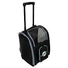 Mojo Miami Dolphins Wheeled Pet Carrier
