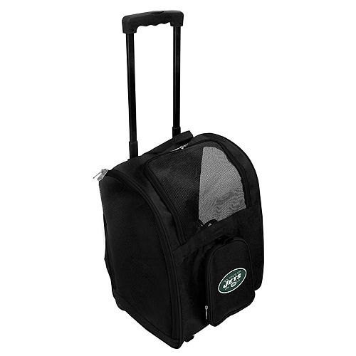 Mojo New York Jets Wheeled Pet Carrier