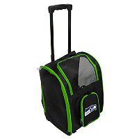 Mojo Seattle Seahawks Wheeled Pet Carrier