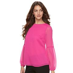 Women's Apt. 9® Textured Balloon Sleeve Top