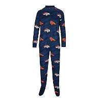 Adult Concepts Sport Denver Broncos Grandstand Union Suit