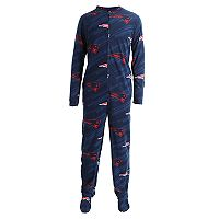 Adult Concepts Sport New England Patriots Grandstand Union Suit