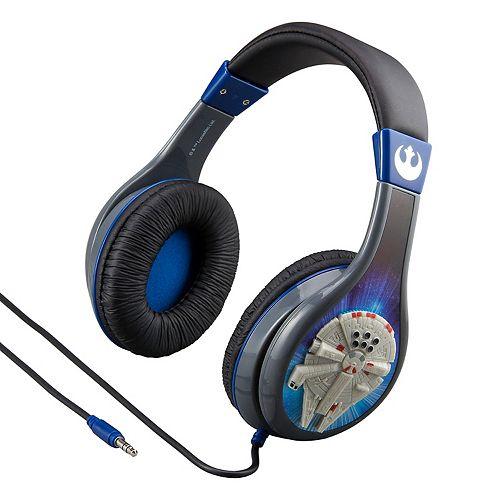 Star Wars: Episode VIII The Last Jedi Millennium Falcon Youth Headphones by eKids
