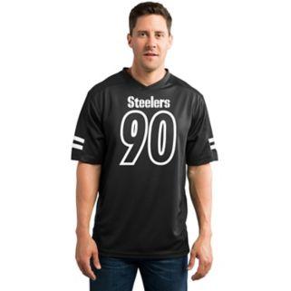 Men's Majestic Pittsburgh Steelers T. J. Watt Hashmark Player Top