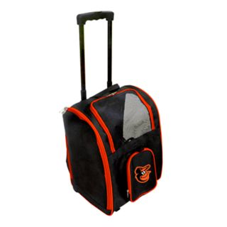 Mojo Baltimore Orioles Wheeled Pet Carrier