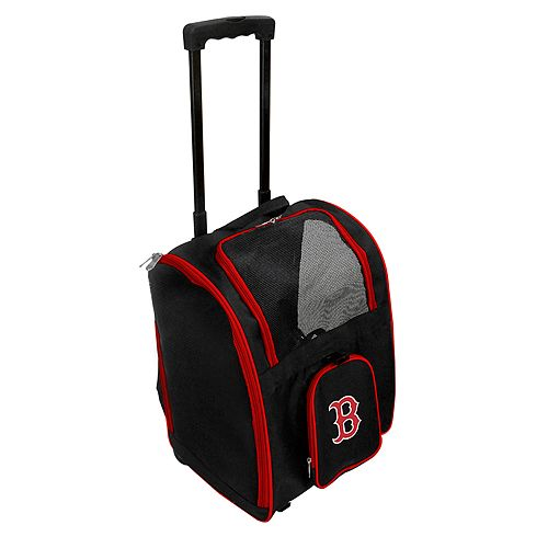 Mojo Boston Red Sox Wheeled Pet Carrier