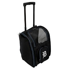 Mojo Detroit Tigers Wheeled Pet Carrier