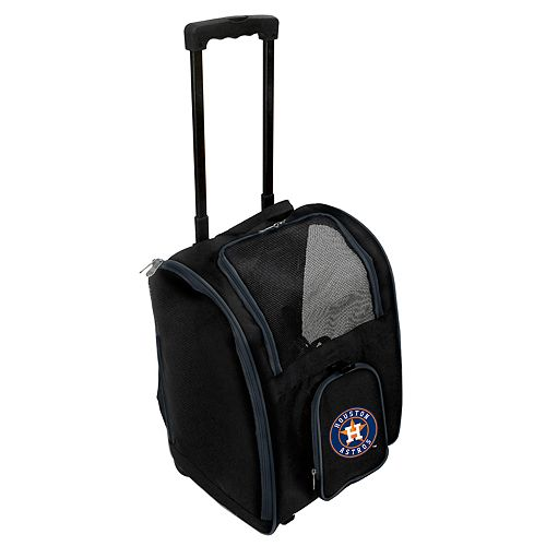 Mojo Houston Astros Wheeled Pet Carrier