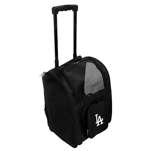 Mojo Los Angeles Dodgers Wheeled Pet Carrier