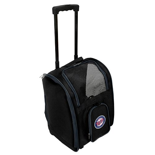 Mojo Minnesota Twins Wheeled Pet Carrier