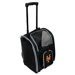 Mojo New York Mets Wheeled Pet Carrier