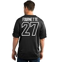 Men's Majestic Jacksonville Jaguars Leonard Fournette Hashmark Player Top