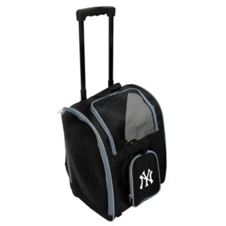 Mojo New York Yankees Wheeled Pet Carrier