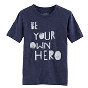 Boys 4-10 Jumping Beans® 'Be Your Own Hero' Space Graphic Tee