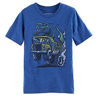 Boys 4-10 Jumping Beans® Dump Truck T-Rex Graphic Tee