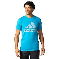 Big & Tall adidas Mesh Logo Tee