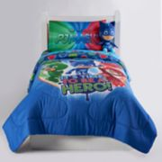 "PJ Masks ""It's Hero Time"" Twin / Full Reversible Comforter"
