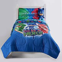 Deals on PJ Masks Its Hero Time Twin / Full Reversible Comforter