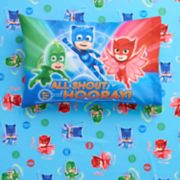 "PJ Masks ""All Shout Hooray"" Sheet Set"