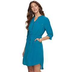 Women's Apt. 9® High-Low Shirtdress