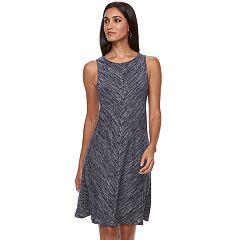 Women's Apt. 9® Sleeveless A-line Knit Dress