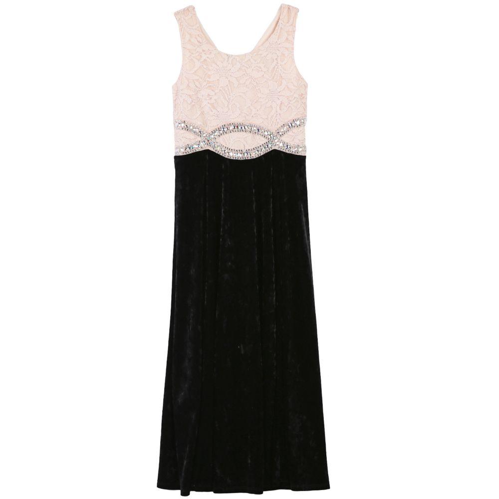 7 16 plus size speechless lace velvet maxi dress