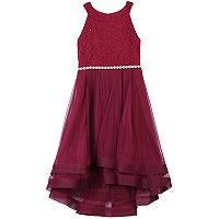 Girls 7-16 Speechless High-Low Double Layer Dress