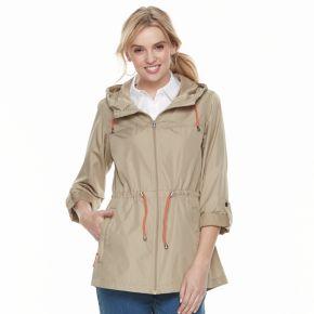 Women's d.e.t.a.i.l.s Hooded Packable Anorak Jacket