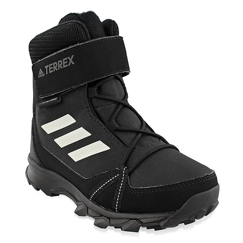 adidas Outdoor Terrex Snow CF CP CW Girls' Waterproof Winter Boots